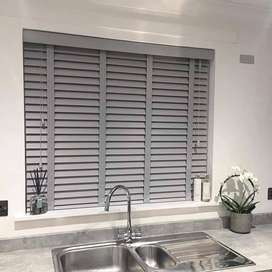 Wooden blinds /faux blinds luxury window blinds