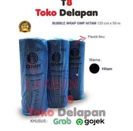 (GOSEND / GRAB) Bubble Wrap Hitam / Black GMP 125 cm x 50 meter