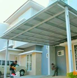 Kanopy atap spandek , rangkah bajah ringan.0234