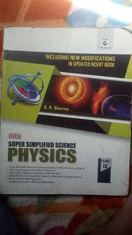 Class 9 physics . Publisher DINESH . Writer S K Sharma.
