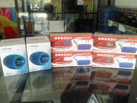 Aksesories Speaker, card reader dan sandisk