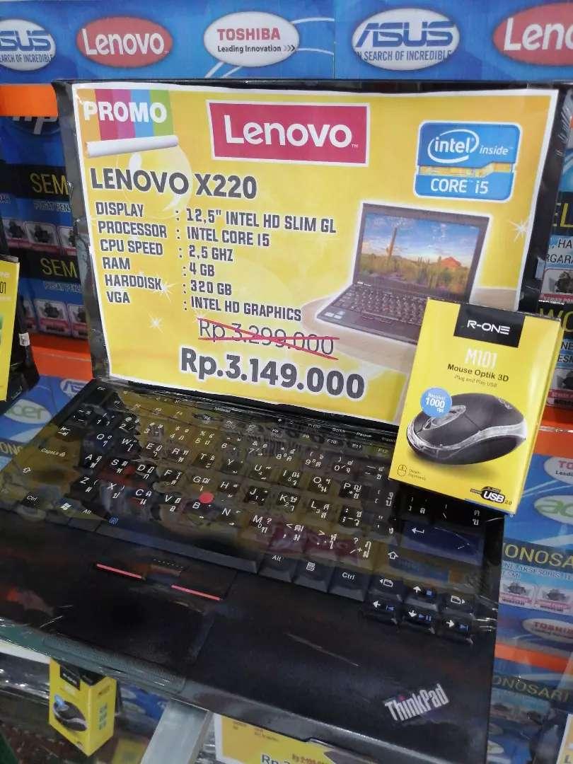 Lenovo X220 Siap Lembur Corei5 0