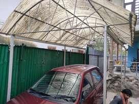 Garage brand new