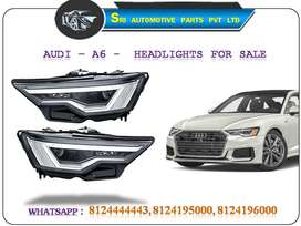 ** AUDI - A6 -   ORIGINAL HEADLIGHTS   AVAILABLE FOR SALE  