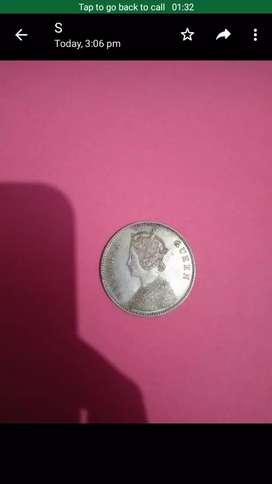Silver coin 1862