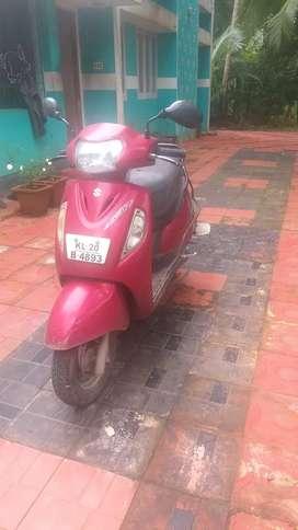 Suzuki access 125cc,single owner,good condition, 40km mileage