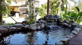 Jasa buat kolam natural relif