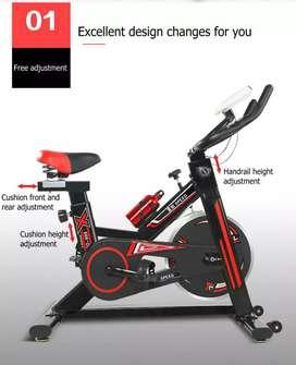 Alat fitnes sepeda statis spinning bike