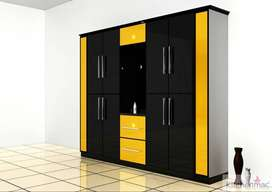 NEW FACTORY DIRECT WARDROBES. HIGH QUALITY. CUSTOM MADE TO ROOM SIZE.