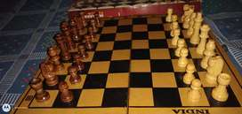Wooden chess board new