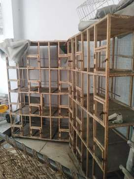12 boxes cage for birds