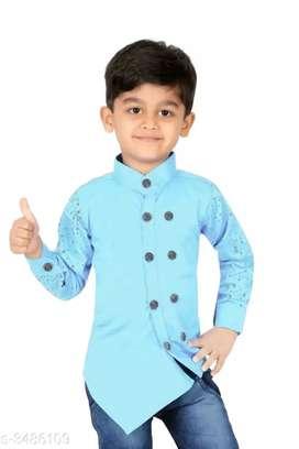 Latest Trendy Cotton Kid'S Boy'S Shirts Vol 2  Fabric: Cotto