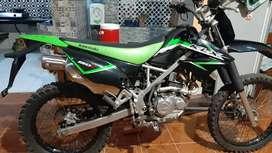 Klx warna hitam hijau tahun 2015 plat ab