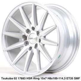 velg TSUKUBA 02 17883 HSR R15X7 H8X100-114,3 ET35 SMF