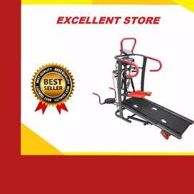 treadmill manual 6 fungsi EX-765  treadmil alat fitnes