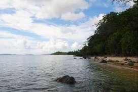Jual Tanah Kebun Pemandangan Menghadap Laut di Lihunu, Pulau Bangka.