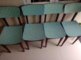 wooden Chair 4 Nos