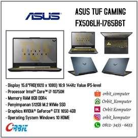 ASUS TUF FX506LH-I765B6T Intel Core i7-10750H RAM 8GB SSD 512GB