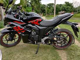 Gixxer sf fi. Fuel injection 155 engine.
