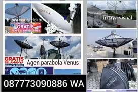 agen  parabola Venus Bebas iuran bulanan ll toko jasa pasang parabola