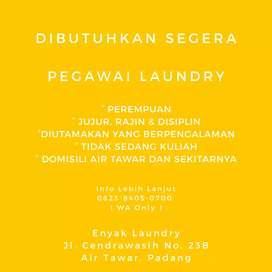 Dibutuhkan Karyawan untuk Laundry