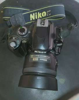 Nikon D60  with lance