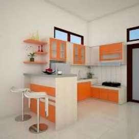 Mini baru,  kitchen set,  almari