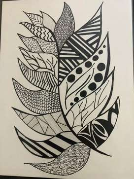 Mandala art ( can be made in different size )