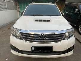 Toyota Fortuner G Diesel A/T 2014! Tdp sesuaiin aja bosbos!