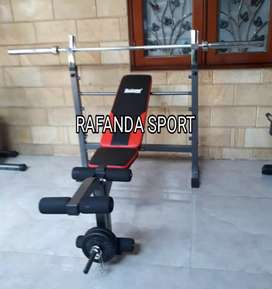 Bench Press Lengkap Stik Da Barbel
