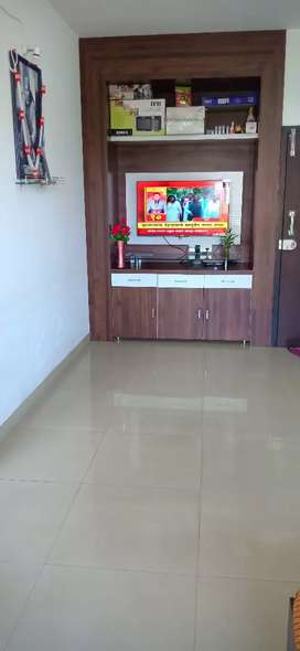 New flat with we'll furnished good location pathardhi fhata