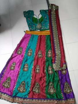 Four different pattern Women chaniya choli only rs 1600