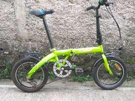 Sepeda lipat laux turin