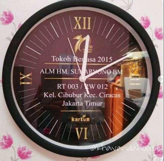 Jual Produk Jam Dinding Custom Foto Termurah