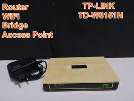 Router TP-Link TD-W8151N with WiFi 150mbps