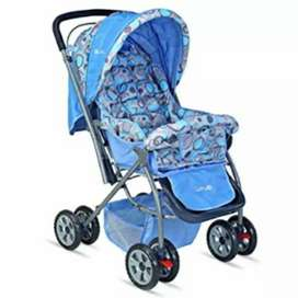 Baby Stroller with new one.