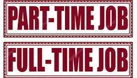 Part Time- Full Time Work in Your Free Time for More Details Call us
