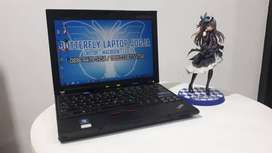 Lenovo Thinkpad X201 Notebook Tangguh Prosesor Core I5 2.40GHz RAM 4GB