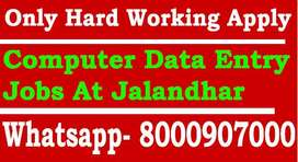 Computer Data Entry, Video Editing Jobs, Girls Needed Fresher Can Appl