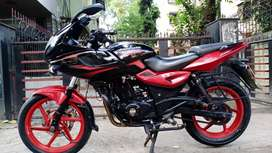 Bajaj .. Pulsar 220 Red & Black .