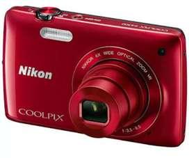 Nikon coolpix  S3300 16 Mp camera