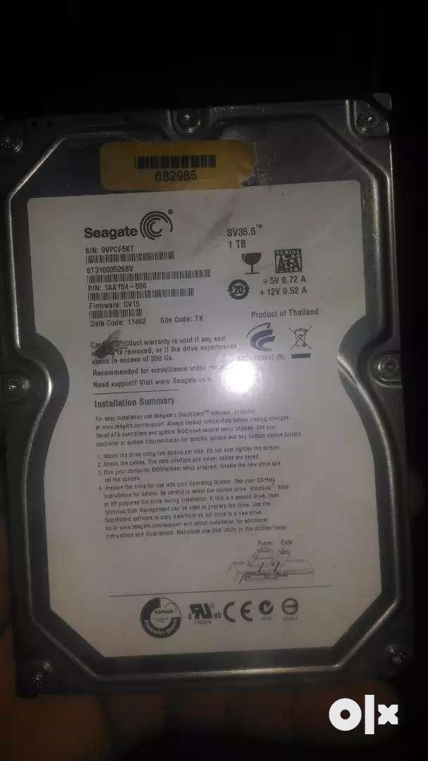 Desktop Internal Hard drive 0