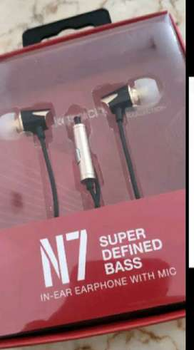 《SEGEL》 Headset NAKAMICHI N7 Earphones Super Define BASS ORIGINAL