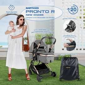 Stroller Pronto R Hadap Depan Belakang Biel Babyshop Jogja kereta Doro