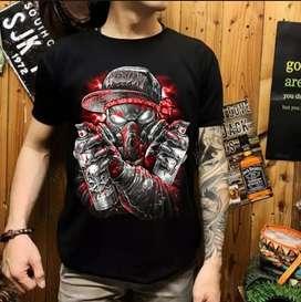 Baju distro black metal