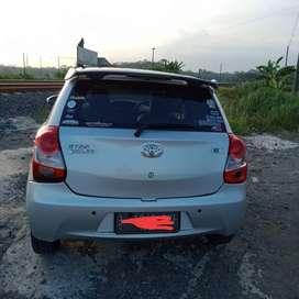 Jual mobil pribadi etios valco th 2013