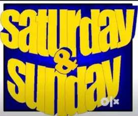 Saturday and Sundays Work for All