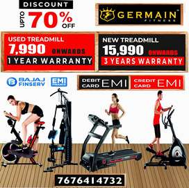 "Motorised TREADMILLs 7,990 onward 1 YEAR WARRANTY 20 Models ""Don't lim"