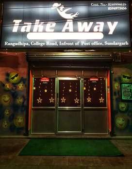 Take Away Restaurant for rent