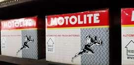 Aki Motolite & Yokohama (garansi sampai 12 bulan) Berbagai Tipe